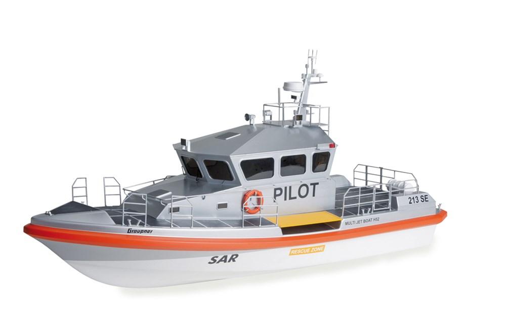 Maquette de bateau : Multi Jet Boat - Bateau pilote - Graupner