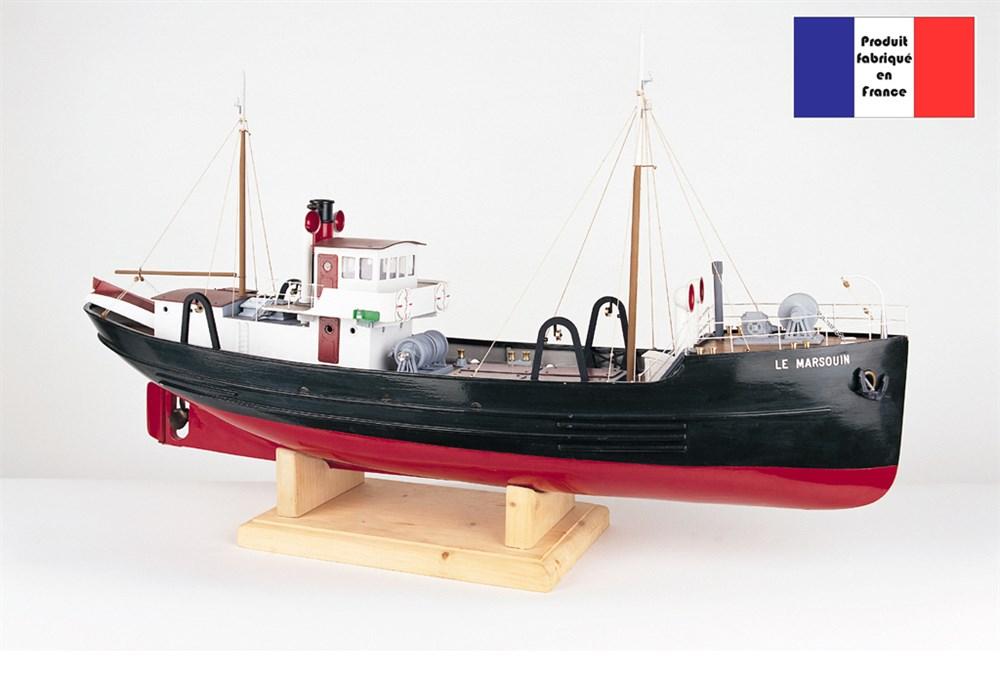 maquette de bateau de p che le marsouin new cap maquettes. Black Bedroom Furniture Sets. Home Design Ideas
