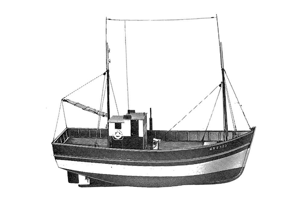 Plans De Bateaux De Peche Sardinier Breton