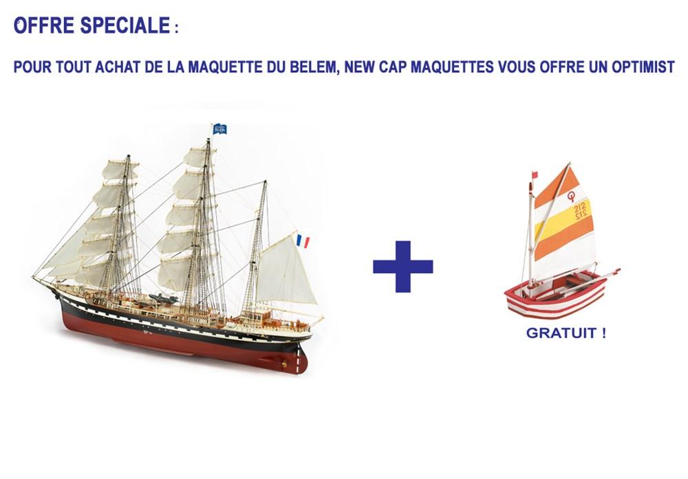 Maquette du belem bateau en bois construire en promotion for Construire le belem