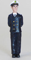 Officier debout - 75 mm