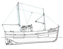Plans De Bateaux De Peche Le Lutece New Cap Maquettes